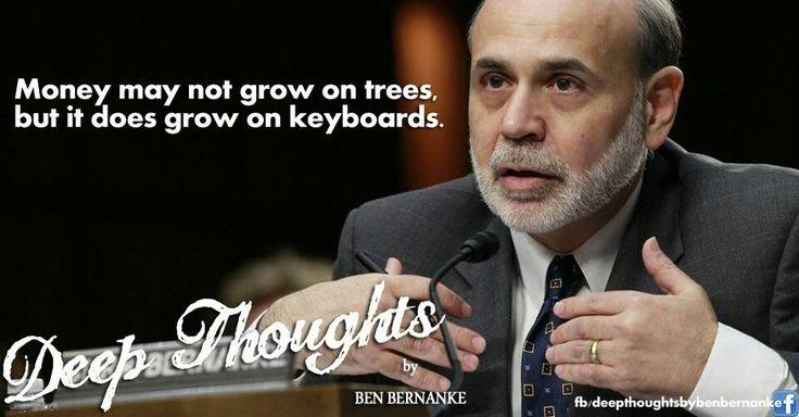 Bernanke is an asshole