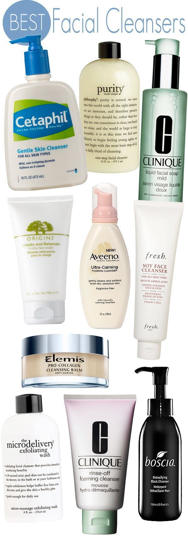 Bird reccomend Best facial cleanser products