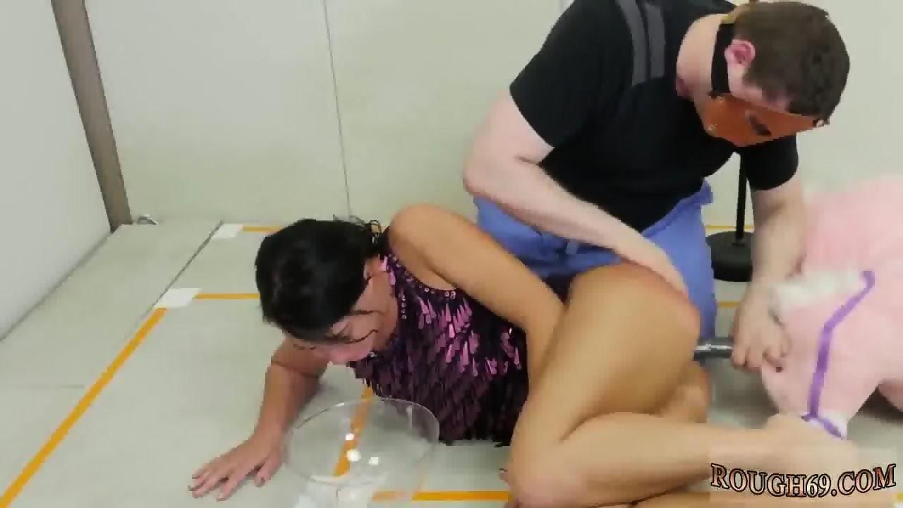 Huge busty girl fucked hard