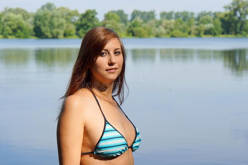 Spike reccomend Bikini photos at the lake