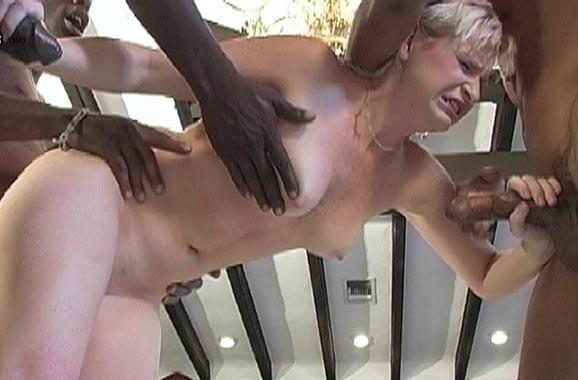 Hot blond masturbate