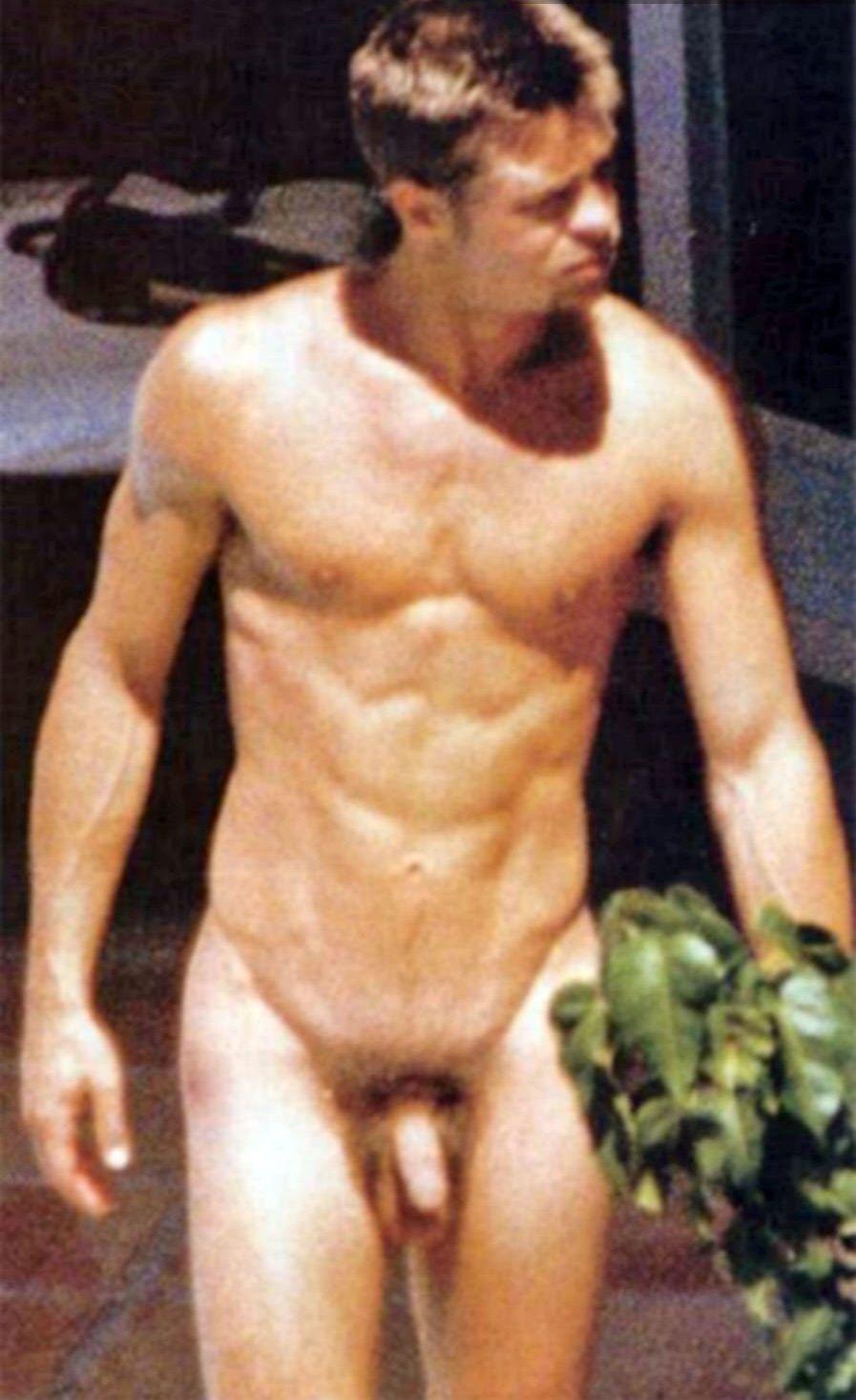 Geneva reccomend Brad pitt butt naked
