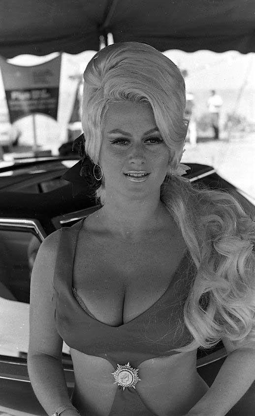 Busty females 1970