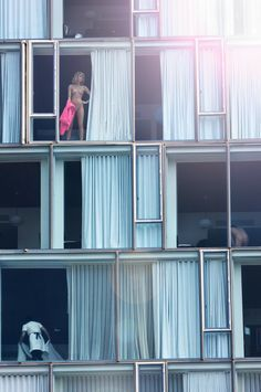 High rise voyeur