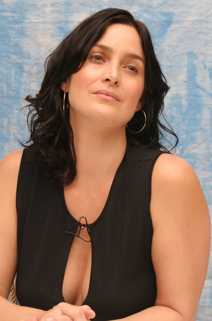 best of Boob Carrie anne moss