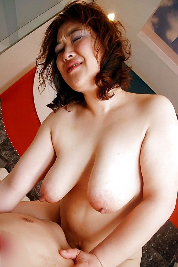 Chubby asian mature