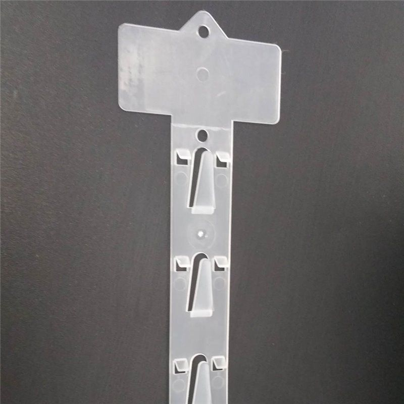 Clothing wall clip strip