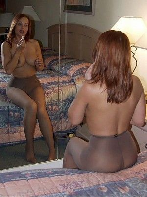 You will cougars in pantyhose galleries