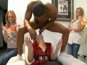 Hot blonde pussy big black cocks
