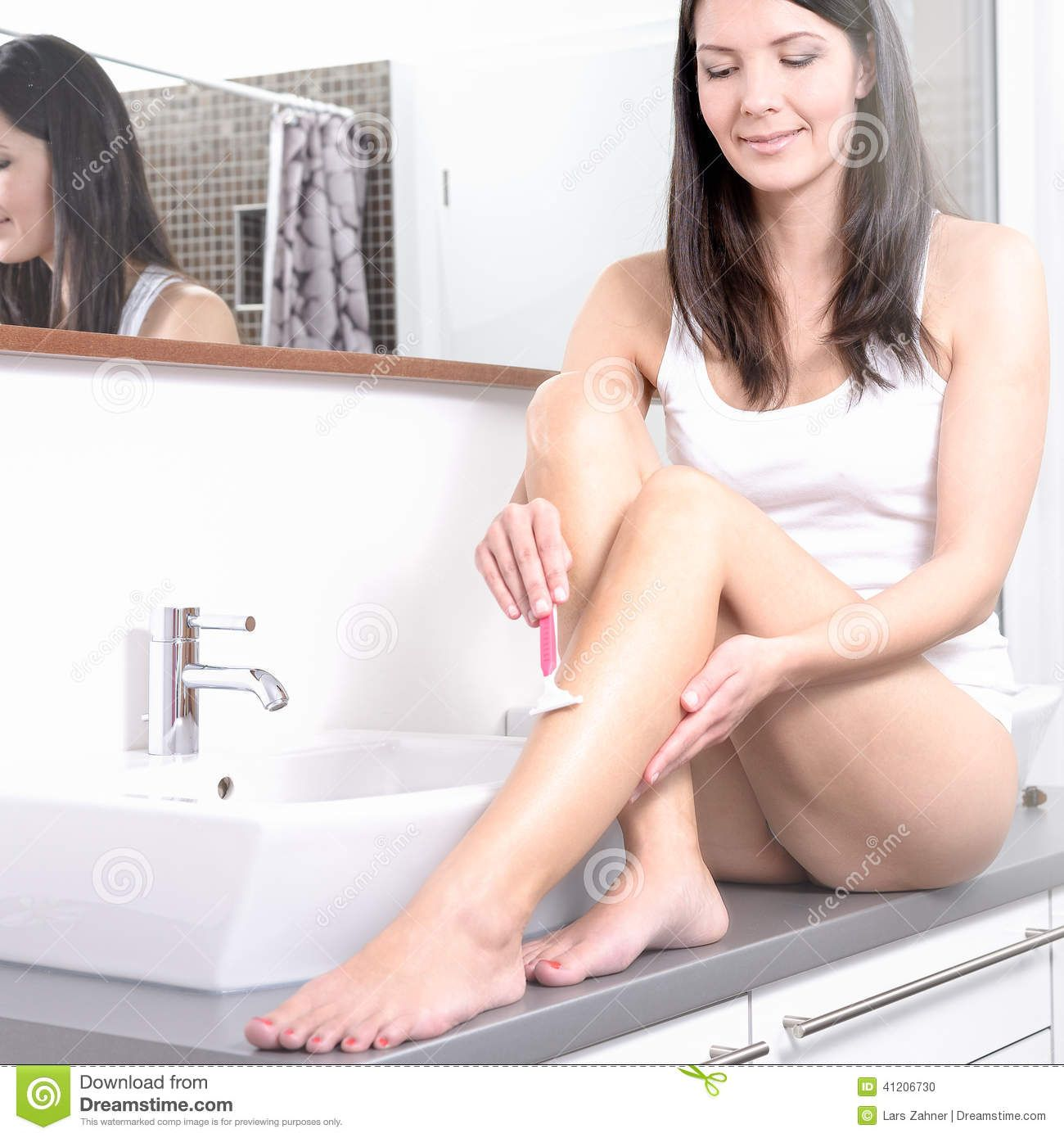 Female domination shave legs