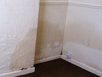 Hoover reccomend Damp penetration in walls