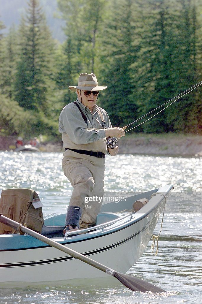 Dick cheney fly fishing