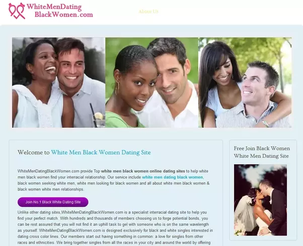 Interracial dating /black women looking for white men