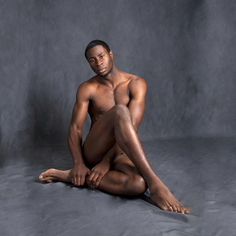 Male naked Black models