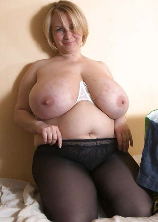 Mature chubby big titted women