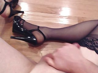 Spunk on my stockings