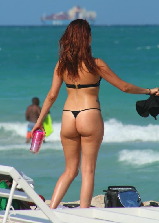 Sherry reccomend Latina bikini thong