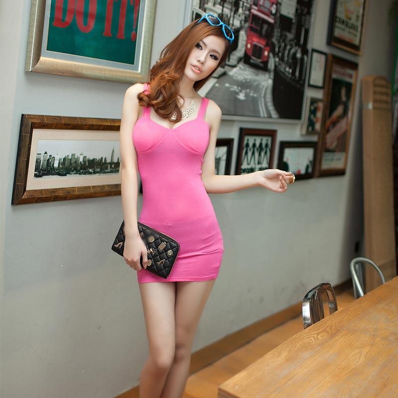 Tall thin redhead