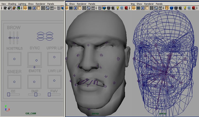 Cookie reccomend Facial rigging in maya
