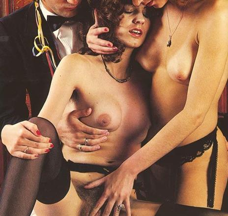1980s porn orgy