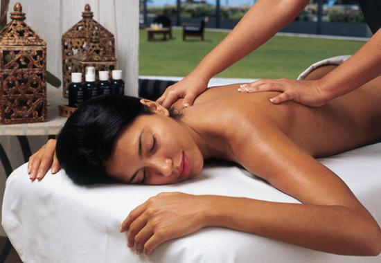 Full body lesbian massage
