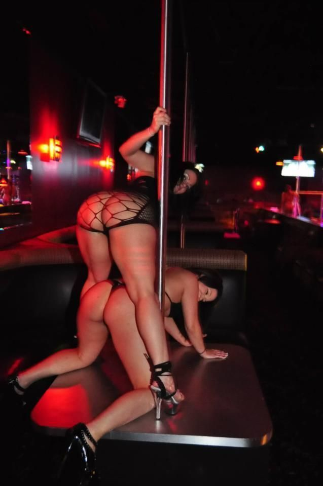 Go-go ride the stripper pole
