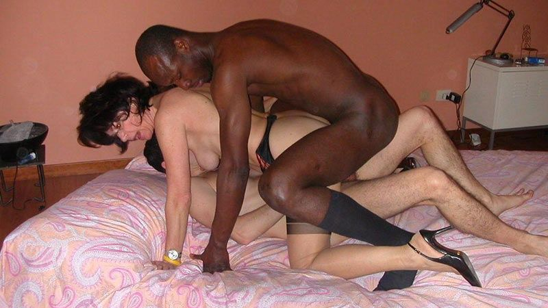 Cuckold interracial sex clips