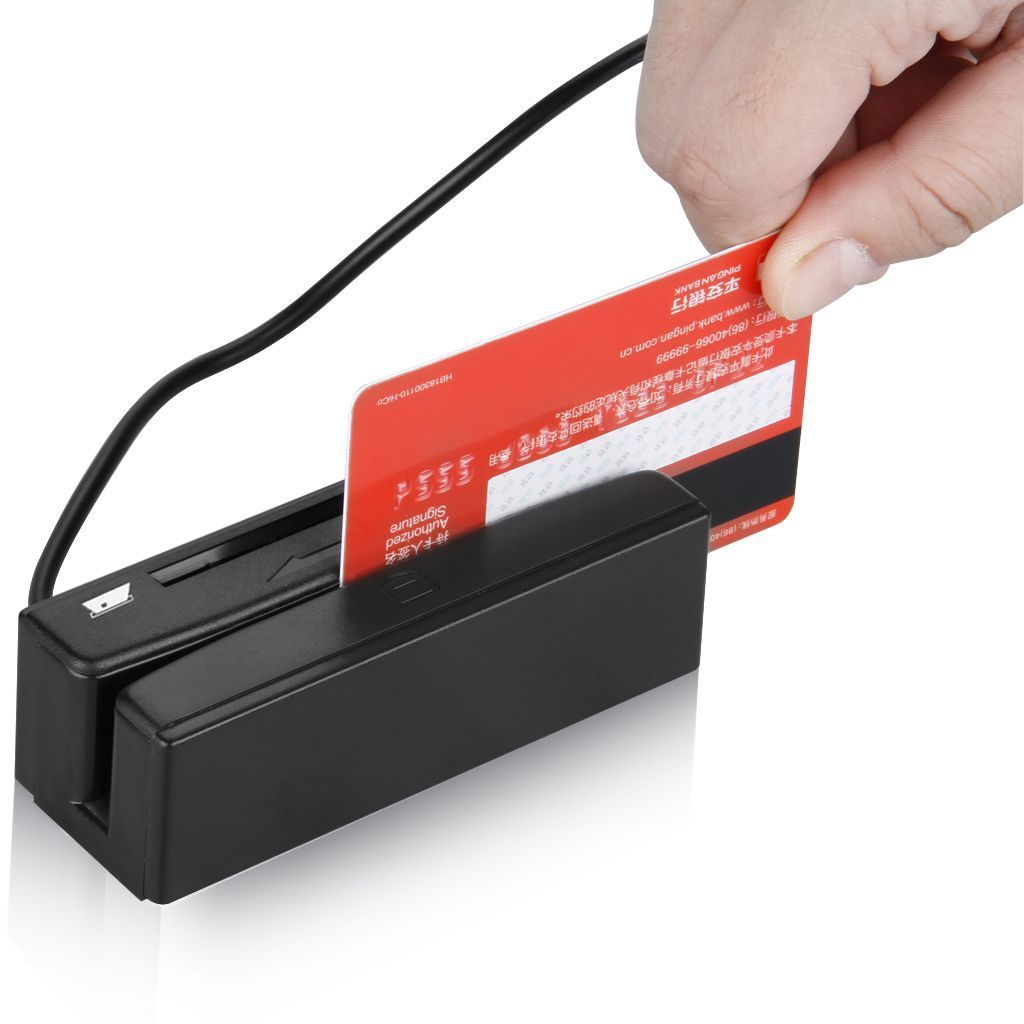 Magnetic strip card encoder