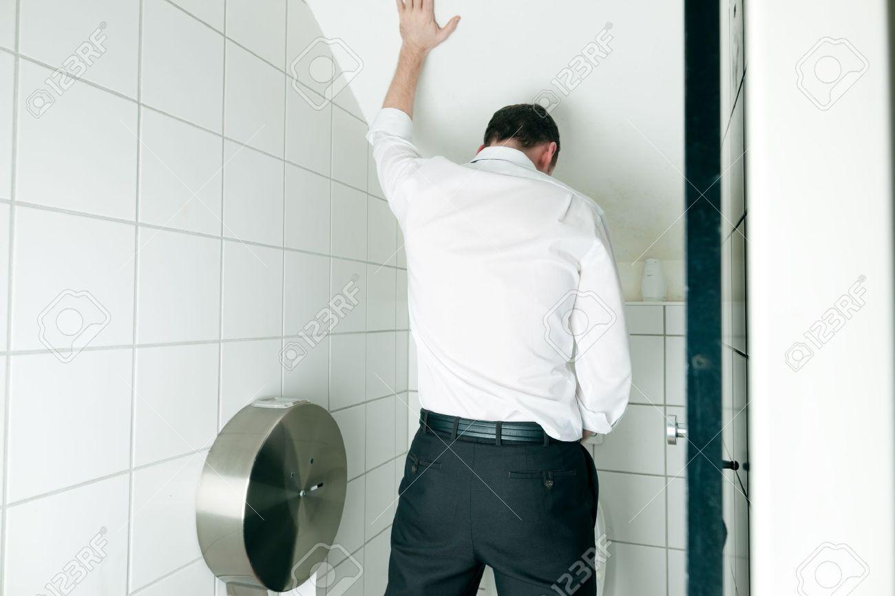 Bass reccomend Man peeing