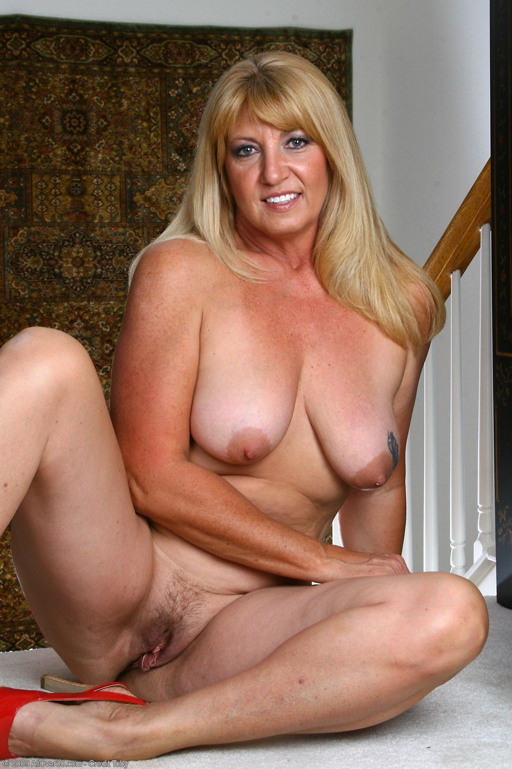 Amateur housewives mature
