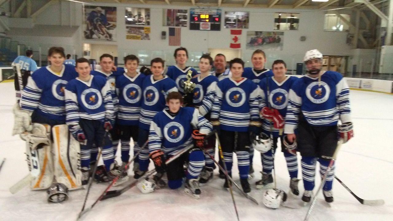 Midget major ice hockey teams