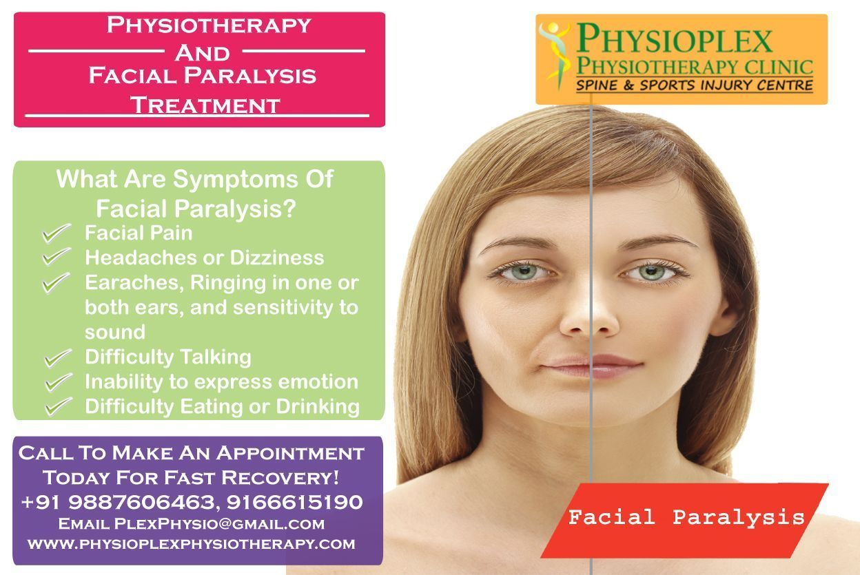 GM reccomend Mild facial paralysis and pain