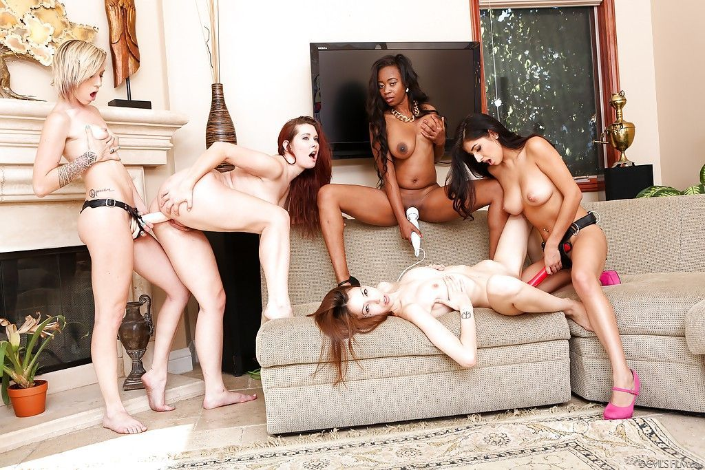 Twizzler reccomend Mixed race orgy