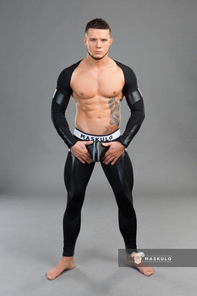 Muscle man fetish