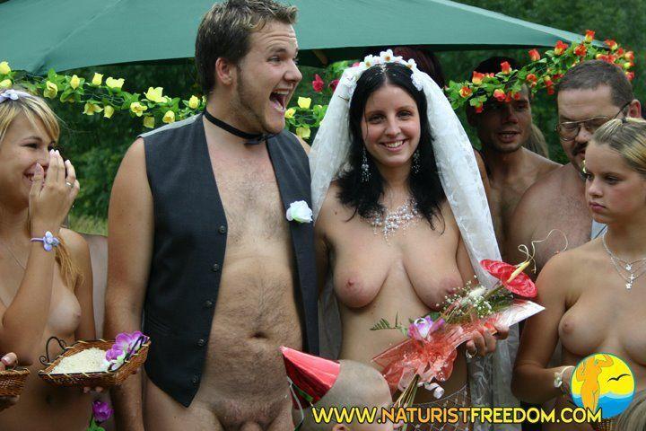 wedding Nude video