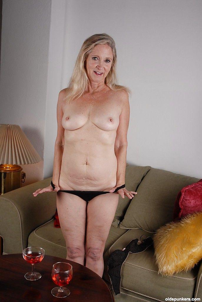 older women ass Naked