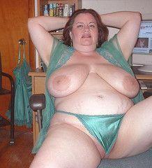 Plump nude matures