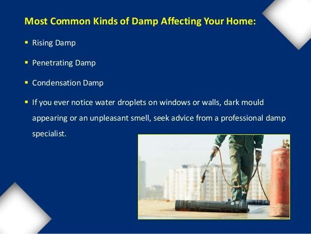 Pancake reccomend Preventing damp penetration