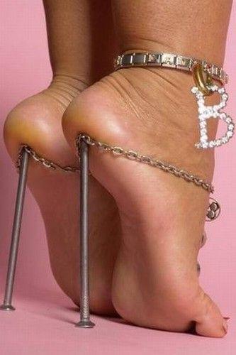 Trigger reccomend Shaved spike heels