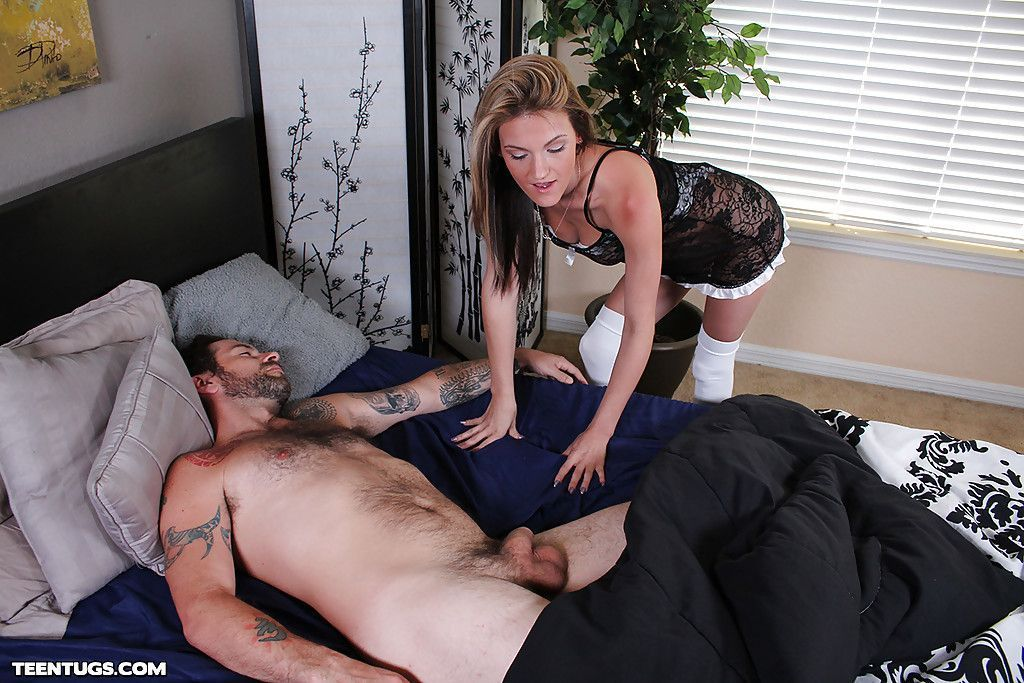 best of Handjob gets a Sleeping man